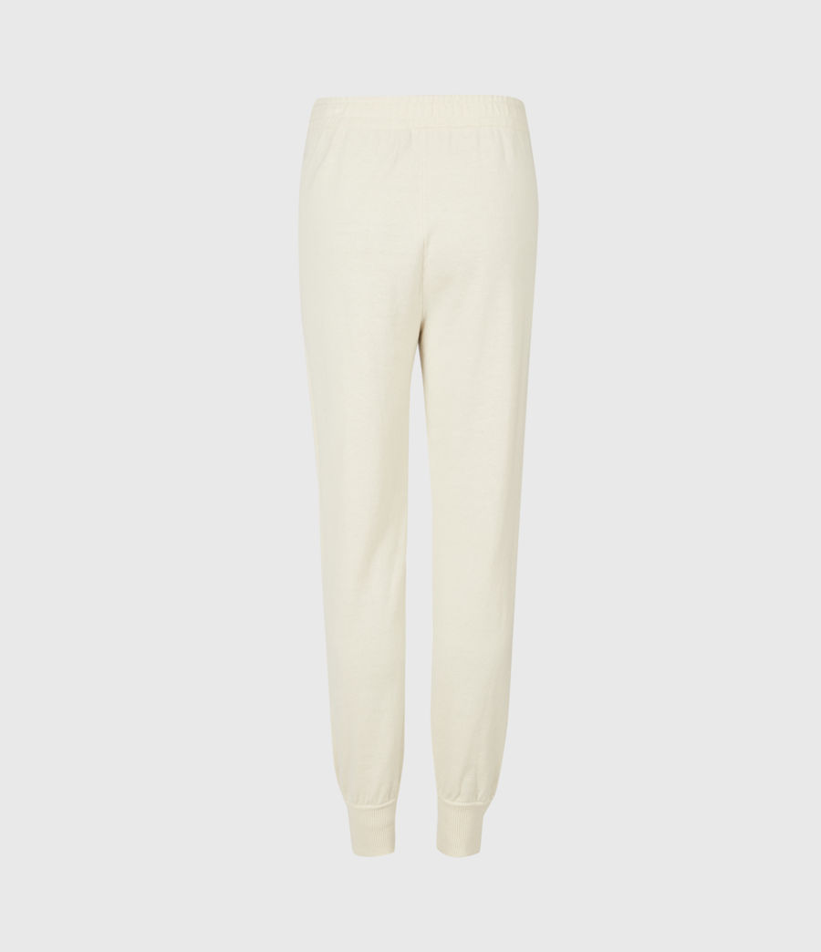 Women's Eli Cuffed Relaxed Joggers (cream_white) - Image 3