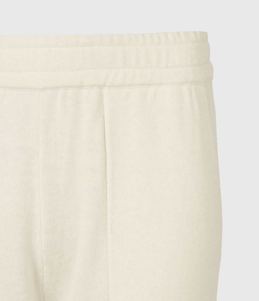 Women's Eli Cuffed Relaxed Joggers (cream_white) - Image 5