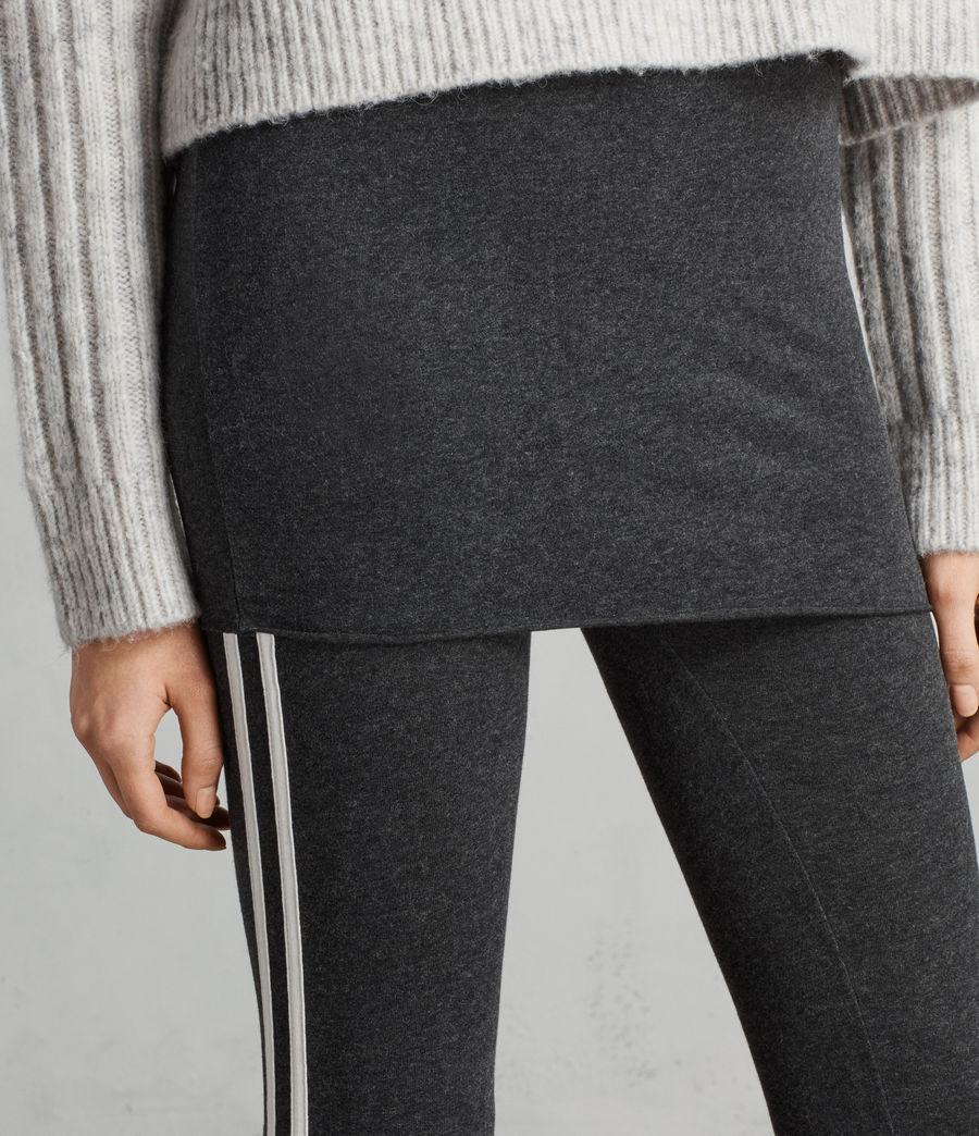 Women's Raffi Side Stripe Leggings (charcoal_grey) - Image 2