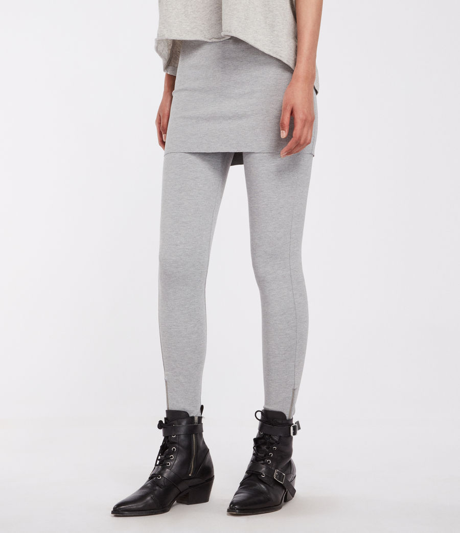Women's Terro Raffi Leggings (grey_marl) - Image 1