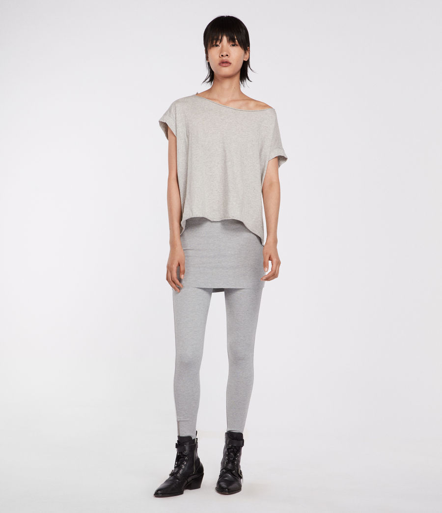 Women's Terro Raffi Leggings (grey_marl) - Image 2