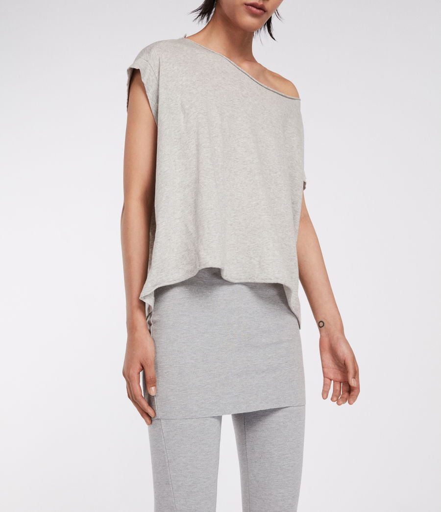 Women's Terro Raffi Leggings (grey_marl) - Image 3