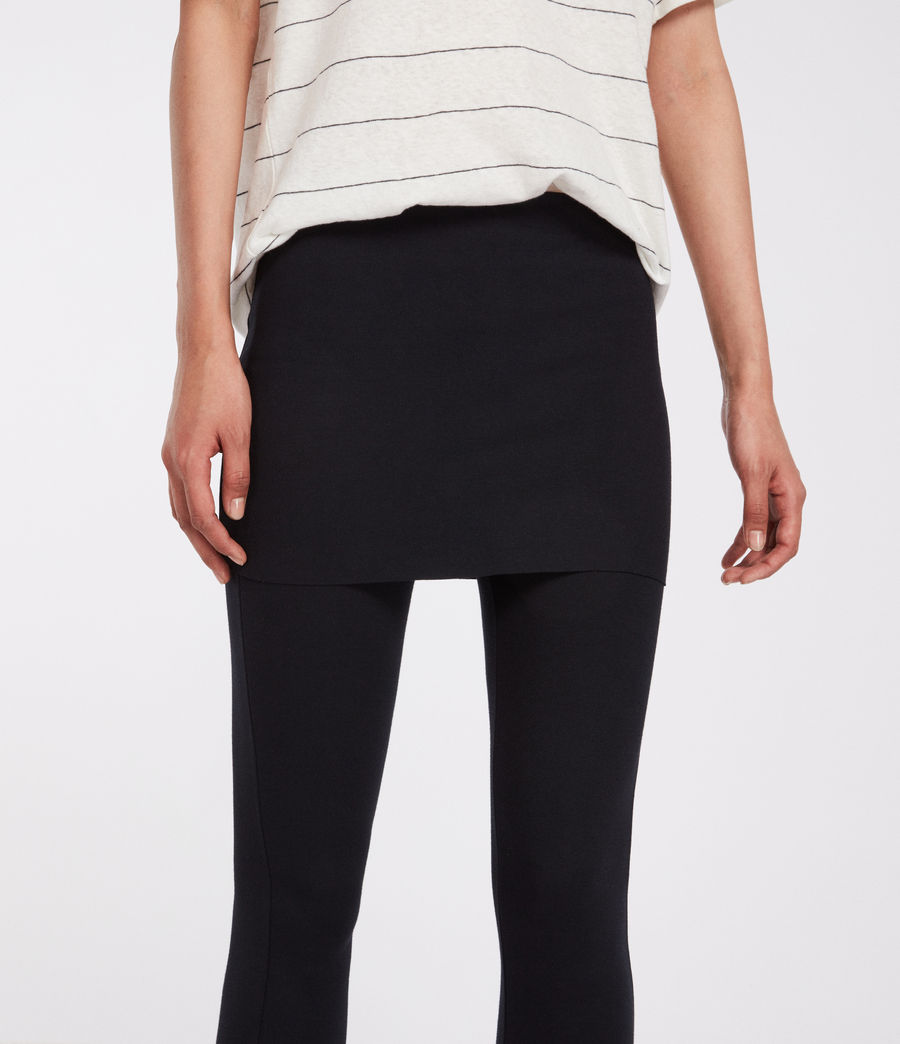 Damen Terro Raffi Leggings (jet_black) - Image 2