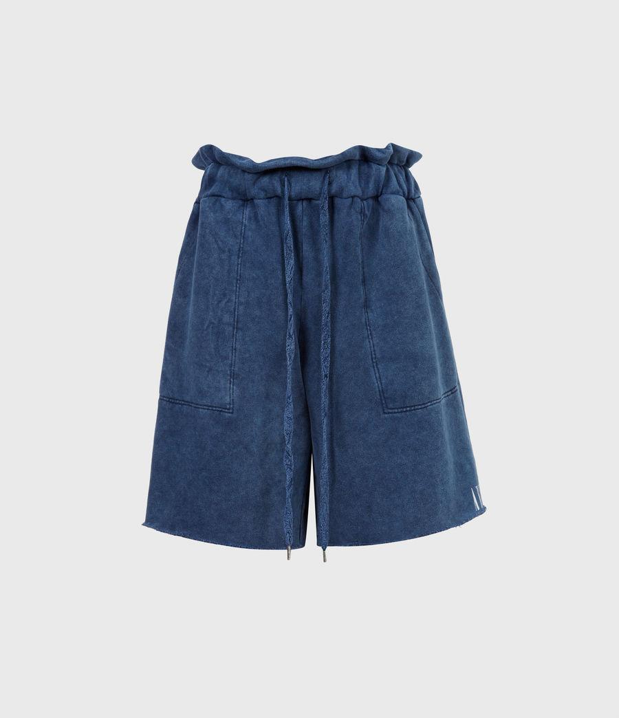 Womens Navarre Shorts (rumor_blue) - Image 2