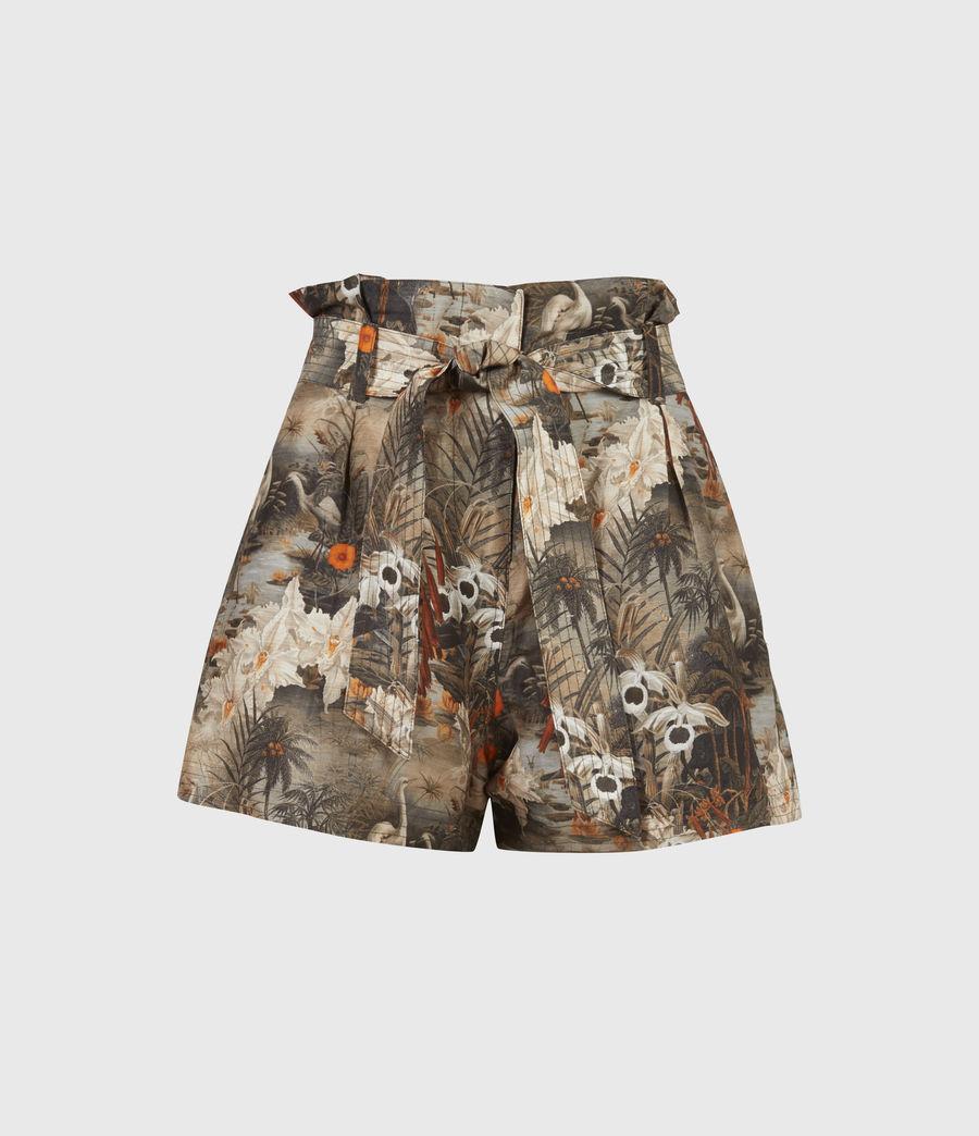 Womens Cori Rejuvenate Shorts (khaki_green) - Image 2