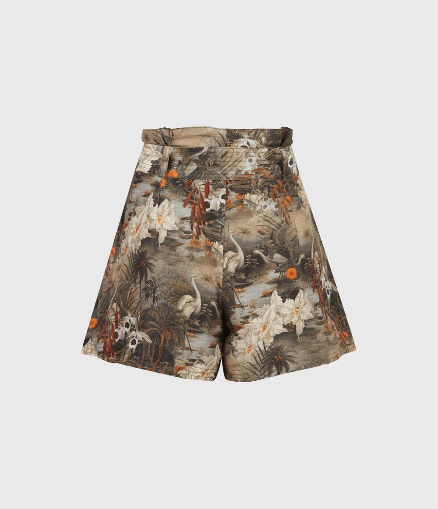 Womens Cori Rejuvenate Shorts (khaki_green) - Image 3