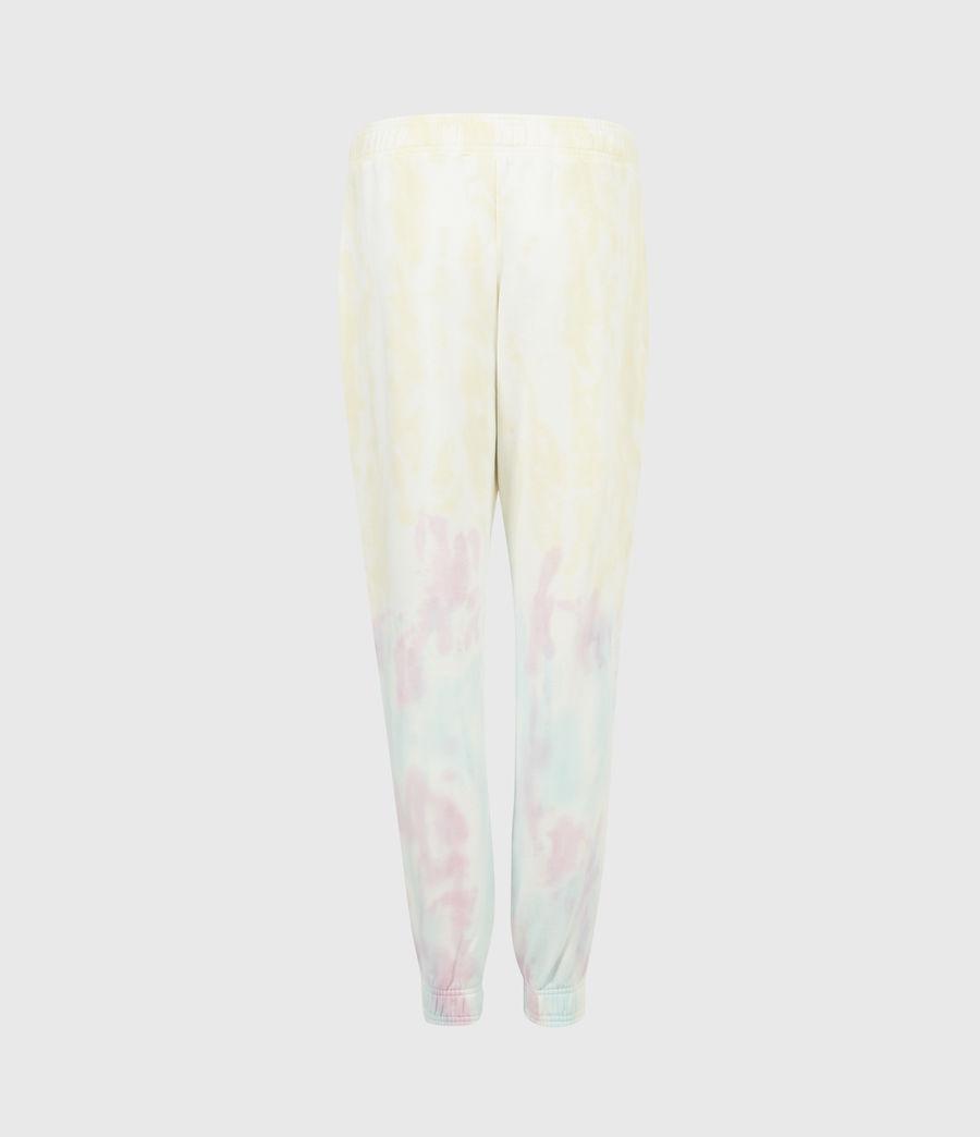Women's Pippa Tie Dye Joggers (yellow_lilac) - Image 3