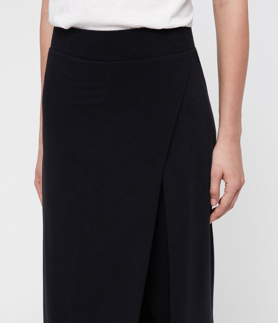 Women's Raffi Maxi Leggings (black) - Image 2