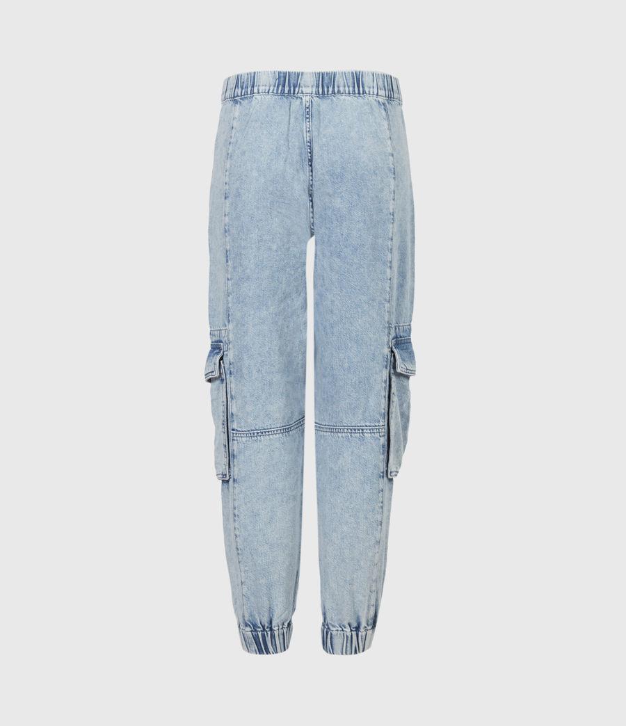 Women's Frieda Denim Trousers (indigo_blue) - Image 3