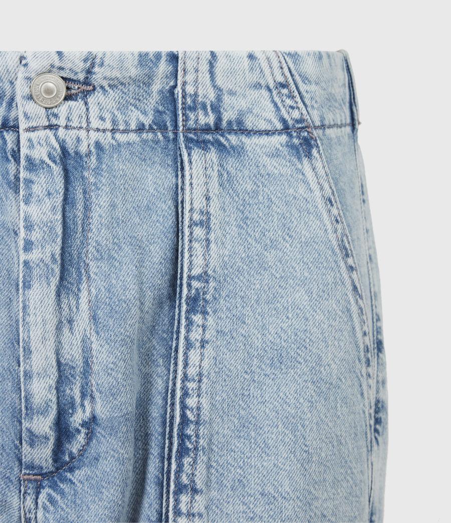 Women's Frieda Denim Trousers (indigo_blue) - Image 5