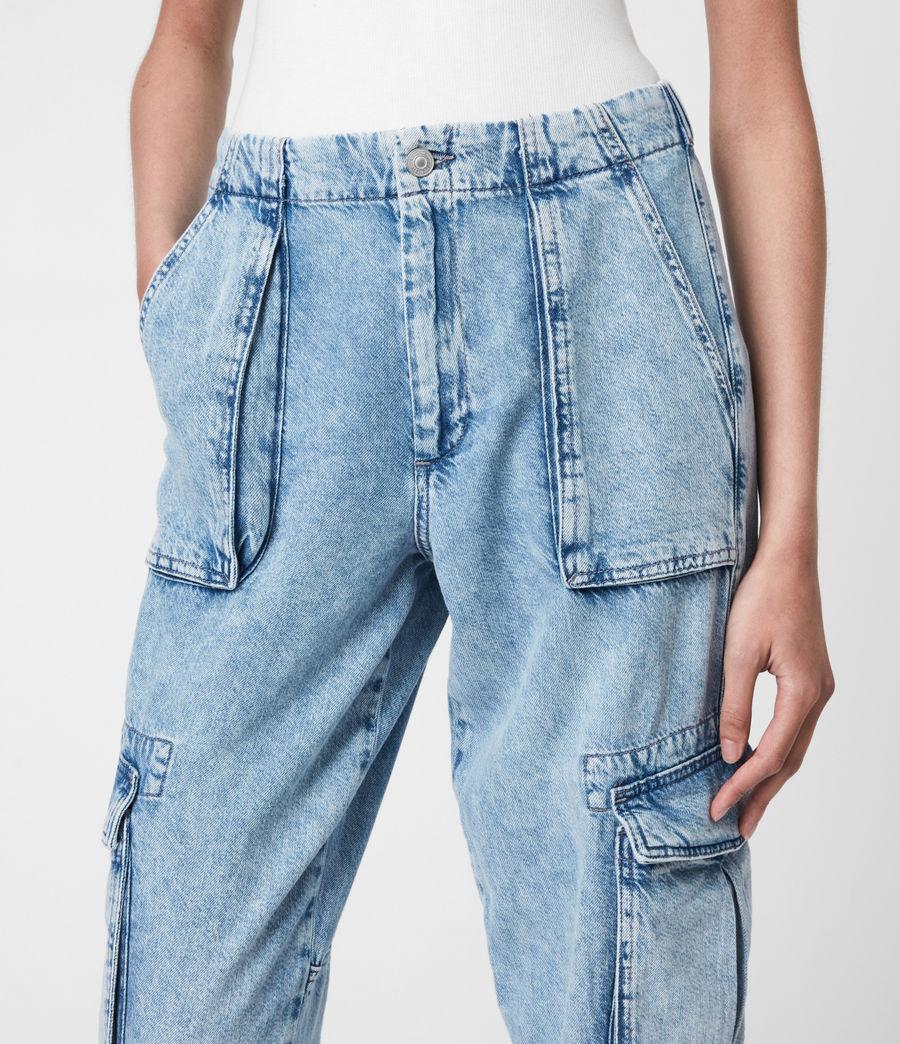 Women's Frieda Denim Trousers (indigo_blue) - Image 6