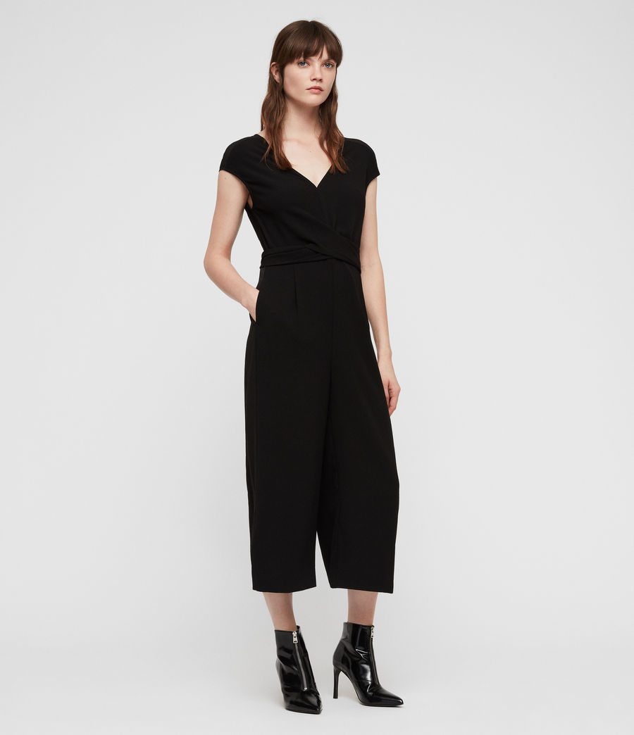 Womens Flyn Jumpsuit (black) - Image 1
