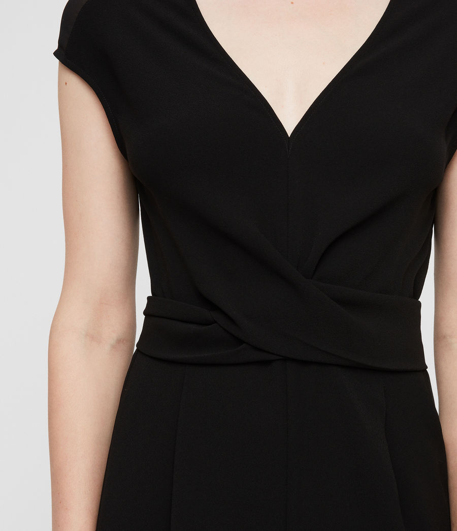 Womens Flyn Jumpsuit (black) - Image 2