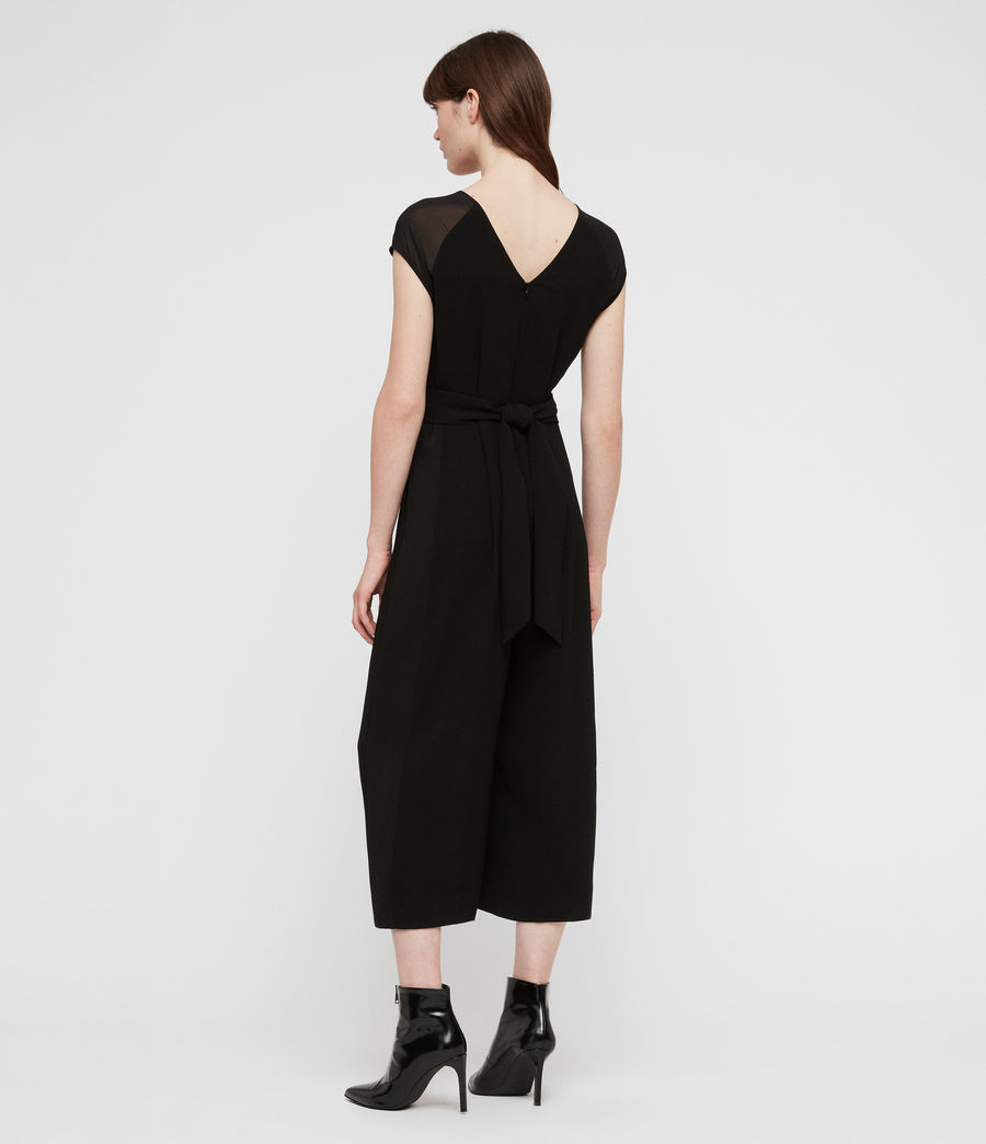 Womens Flyn Jumpsuit (black) - Image 5
