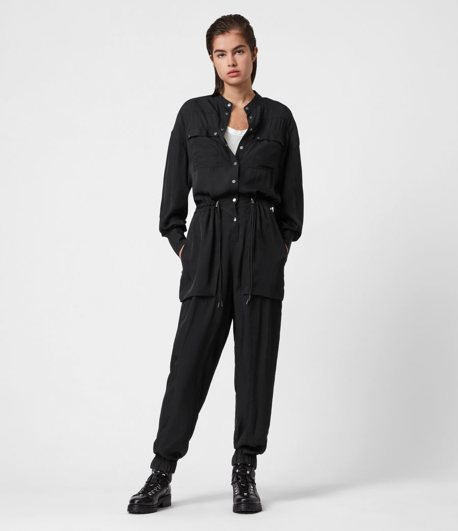 Damen Enia Jumpsuit (black) - Image 1