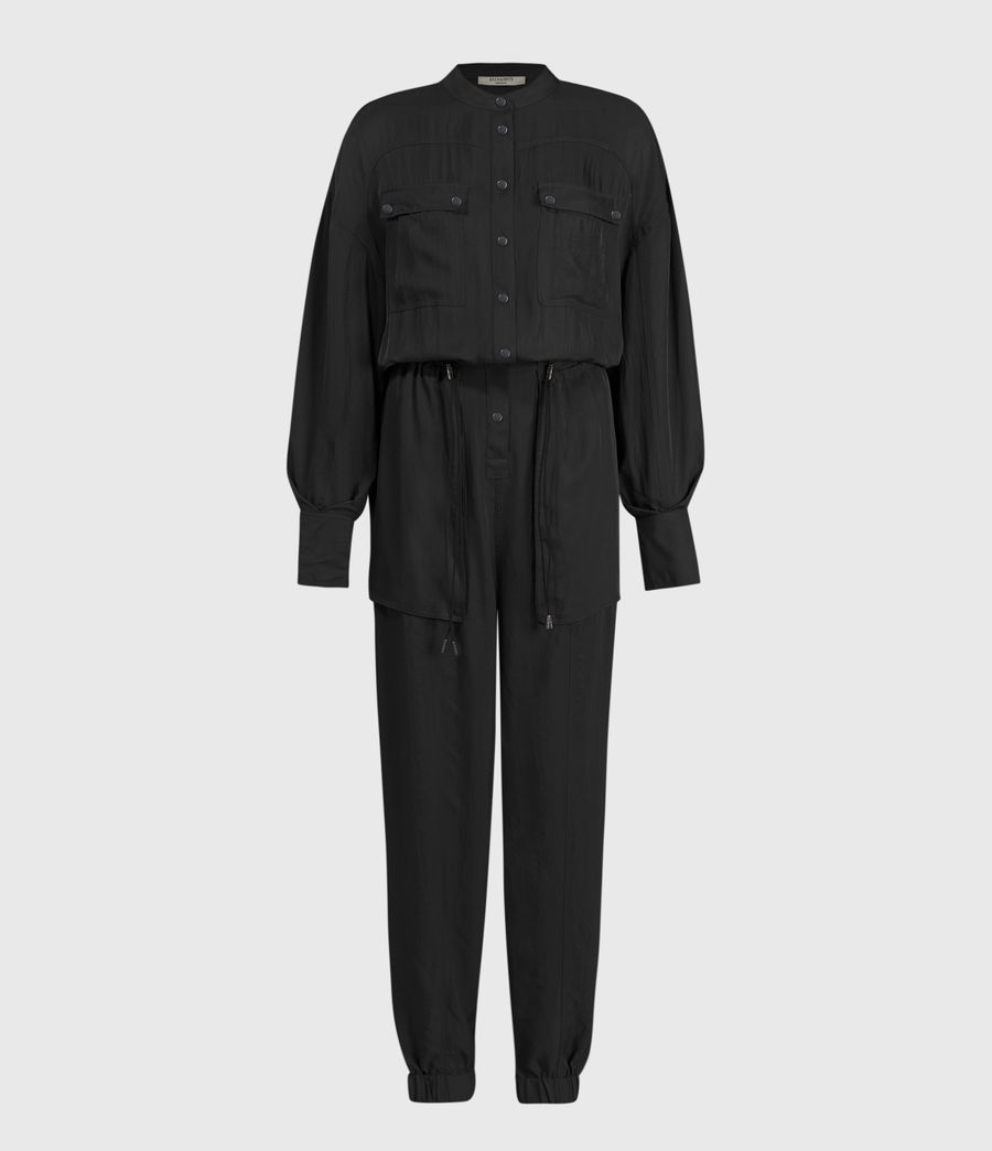 Damen Enia Jumpsuit (black) - Image 2