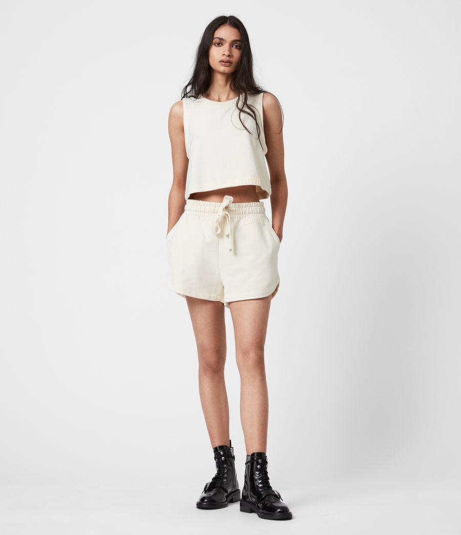 Femmes Lila Sweat Shorts (ecru_white) - Image 1