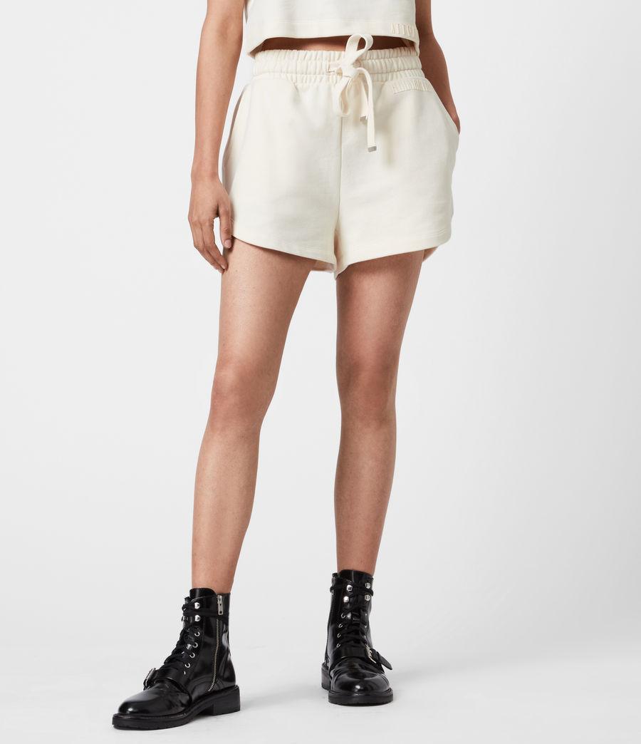 Femmes Lila Sweat Shorts (ecru_white) - Image 4