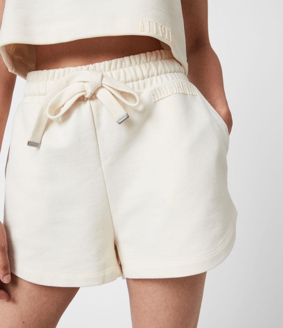 Femmes Lila Sweat Shorts (ecru_white) - Image 6