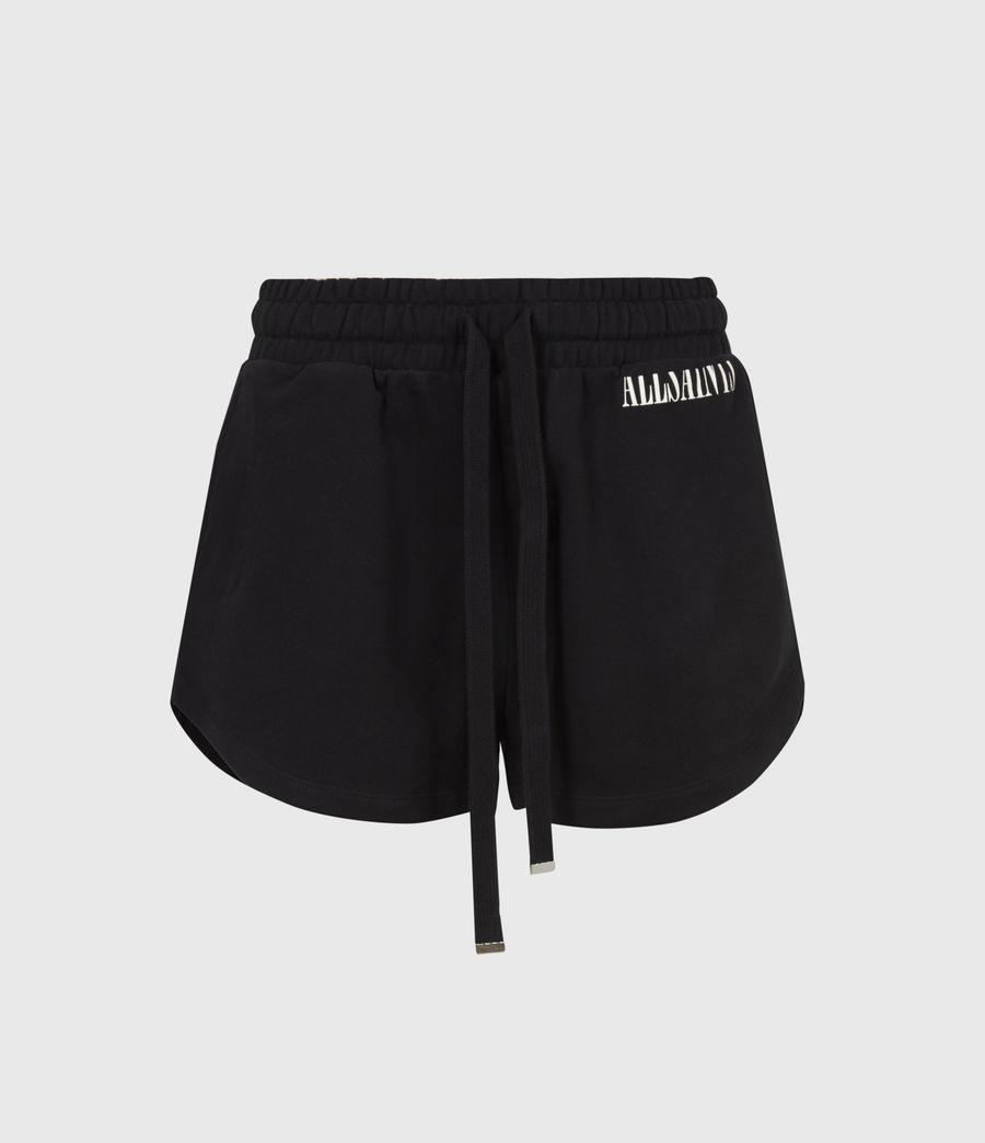 Femmes Lila Sweat Shorts (black) - Image 2
