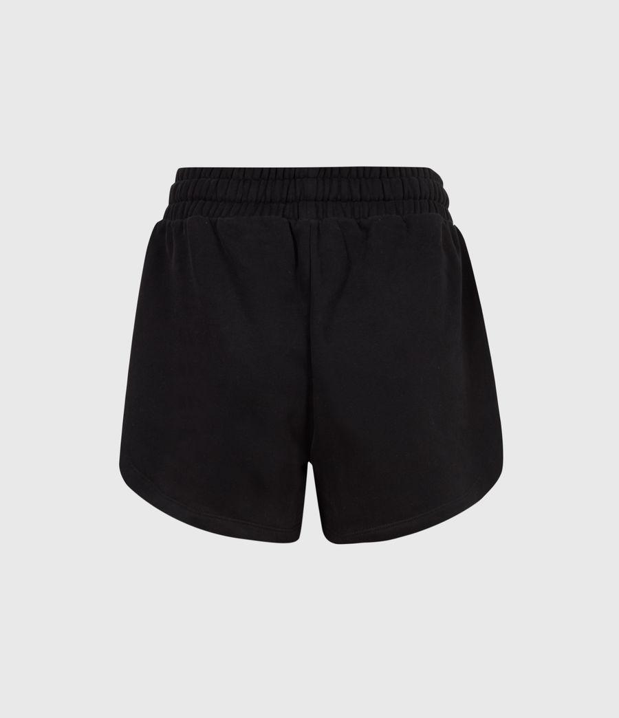 Femmes Lila Sweat Shorts (black) - Image 3
