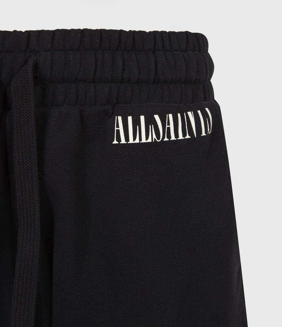 Femmes Lila Sweat Shorts (black) - Image 5