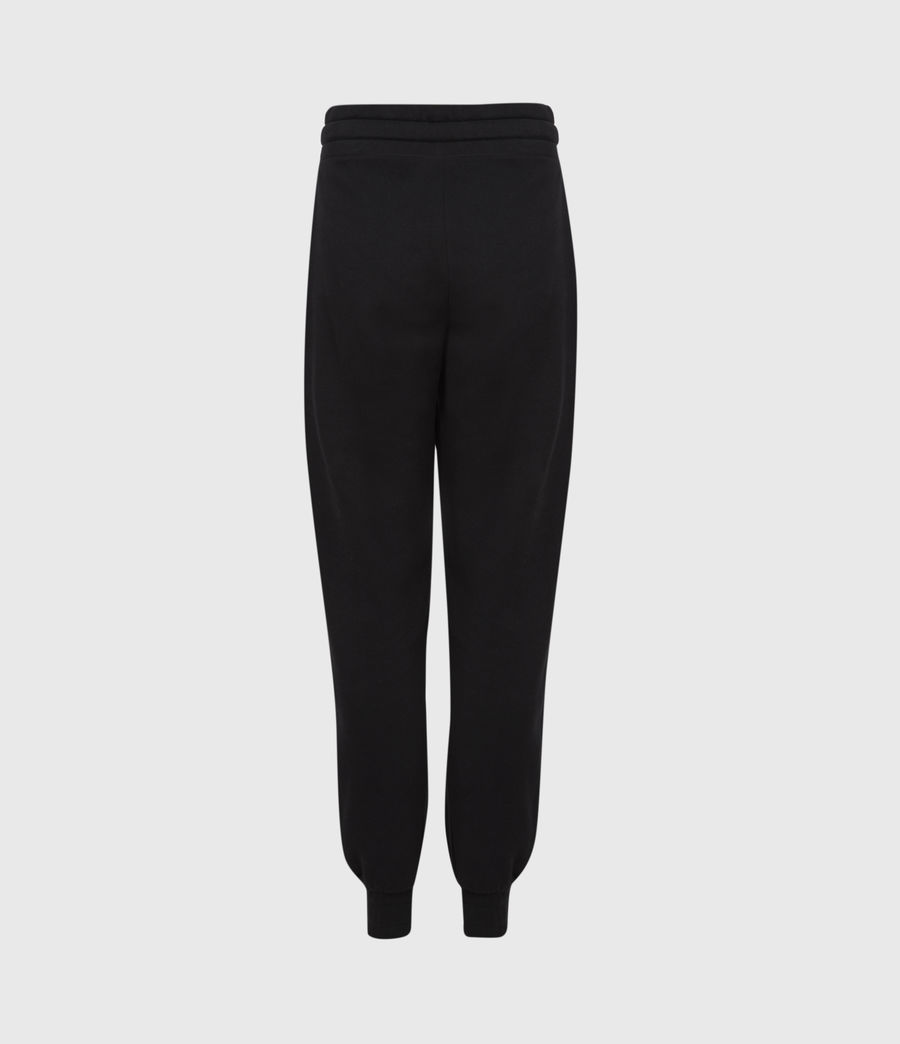 Womens Lucia Cuffed Relaxed Sweatpants (black) - Image 3