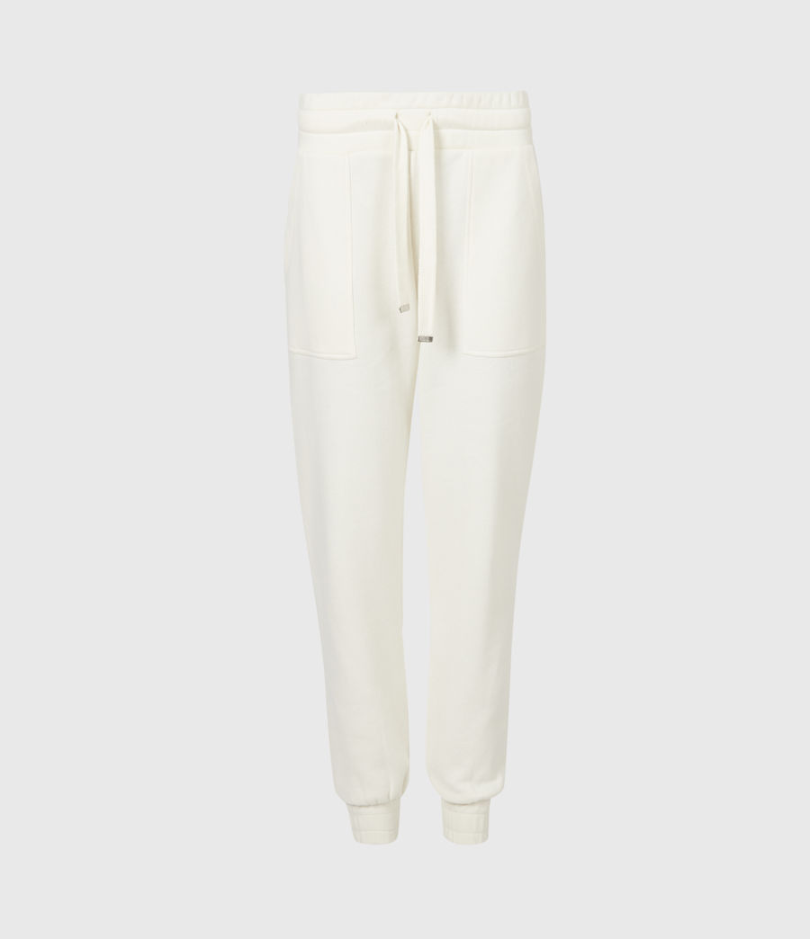 Women's Lucia Cuffed Relaxed Sweatpants (warm_white) - Image 2