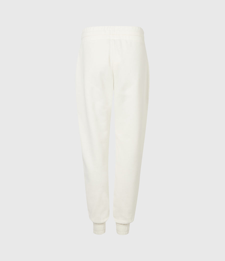 Womens Lucia Cuffed Relaxed Sweatpants (warm_white) - Image 3