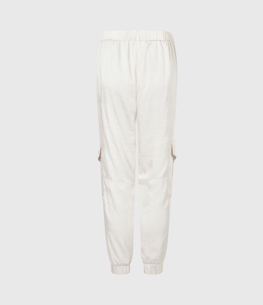 Femmes Frieda Mid-Rise Cuffed Trousers (cream_white) - Image 3