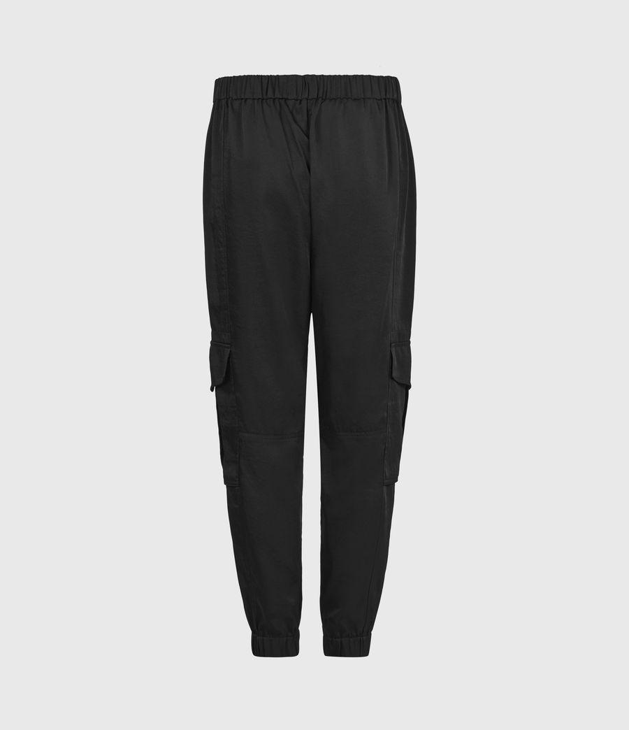 Femmes Pantalon Cargo Frieda (black) - Image 3