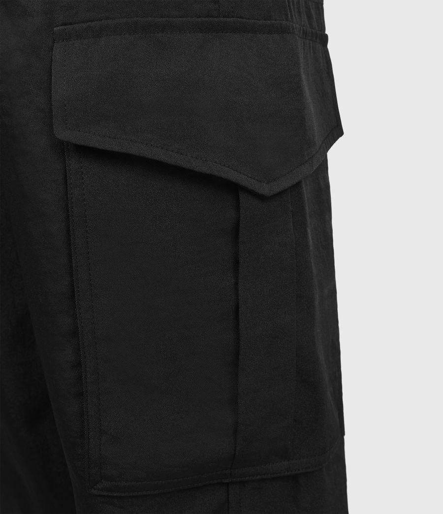 Femmes Pantalon Cargo Frieda (black) - Image 6