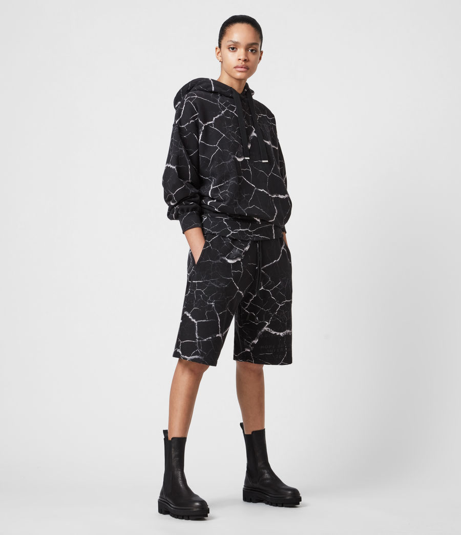 Women's Talie Hope Boyfriend Shorts (black) - Image 4