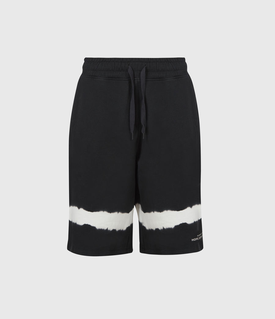 Womens Talie Rihan Boyfriend Shorts (ink_blue_white) - Image 2