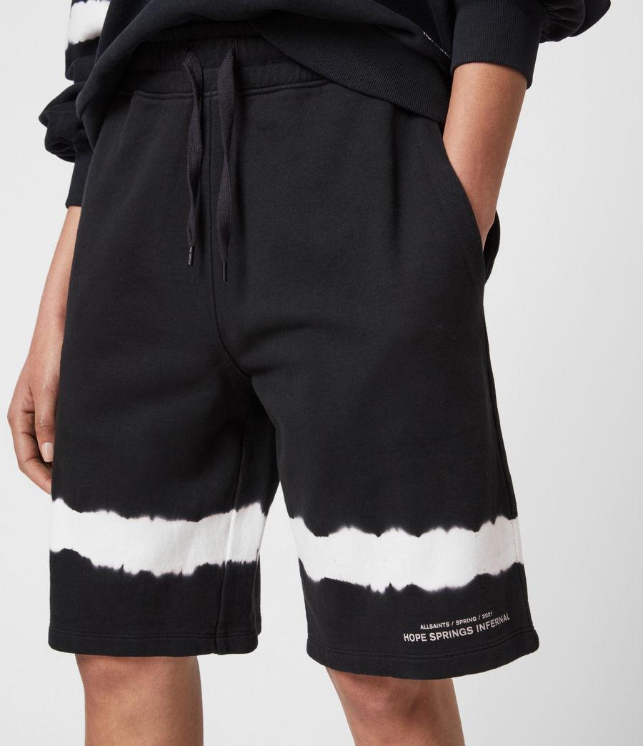 Womens Talie Rihan Boyfriend Shorts (ink_blue_white) - Image 4