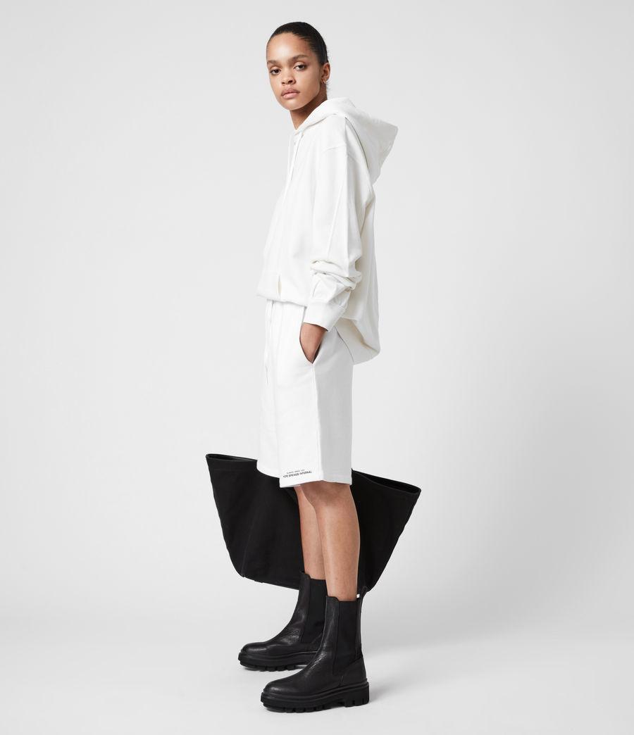 Women's Talie Boyfriend Shorts (optic_white) - Image 1
