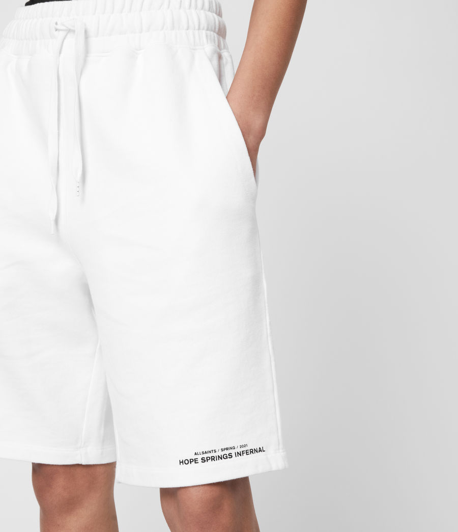 Women's Talie Boyfriend Shorts (optic_white) - Image 7