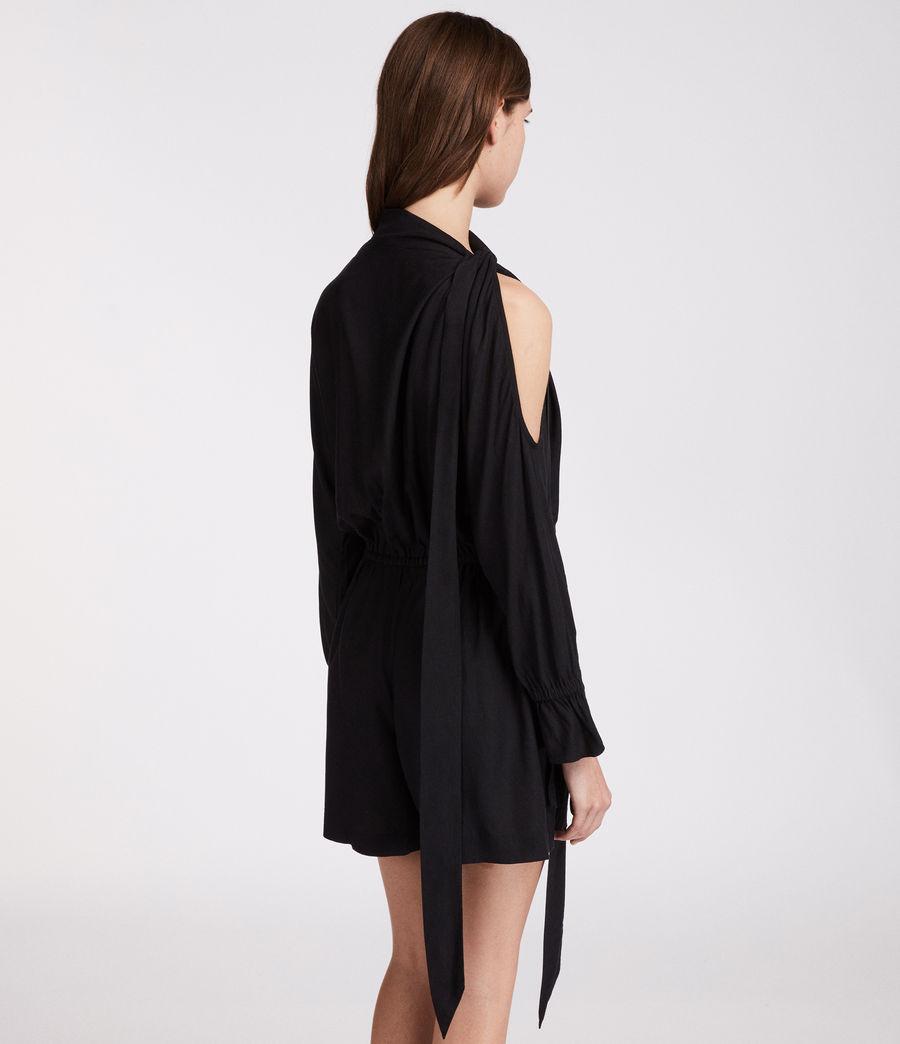 Women's Neela Playsuit (black) - Image 4