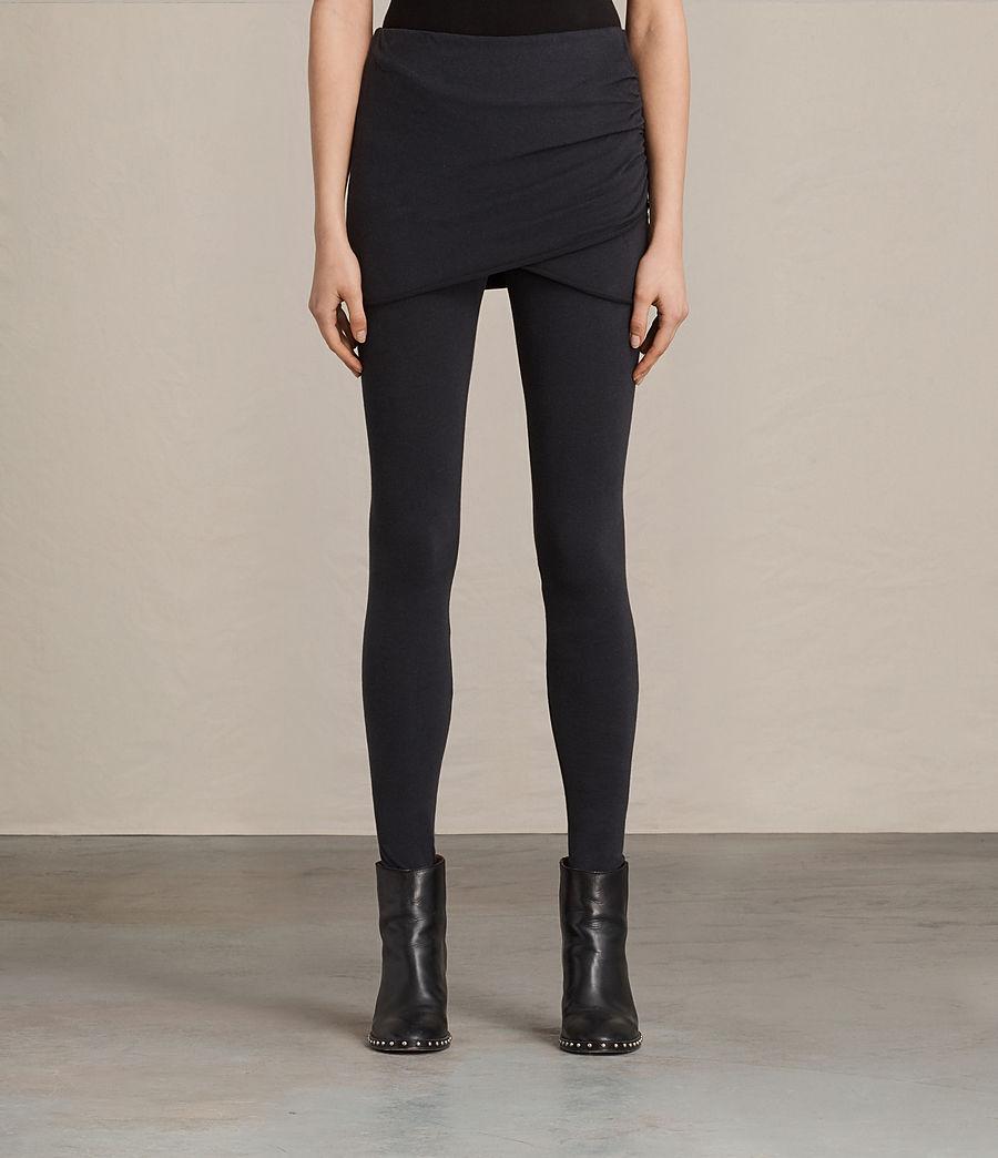 Mujer Leggings Raffi Gathered (black) - Image 1