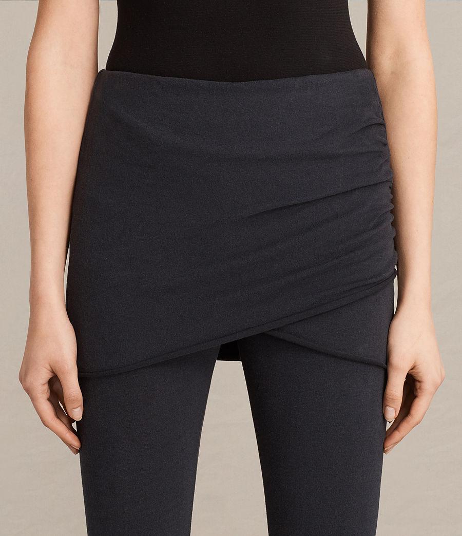 Mujer Leggings Raffi Gathered (black) - Image 2