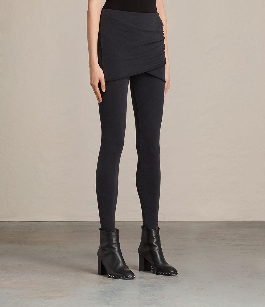 Donne Leggings Raffi Gathered (black) - Image 3