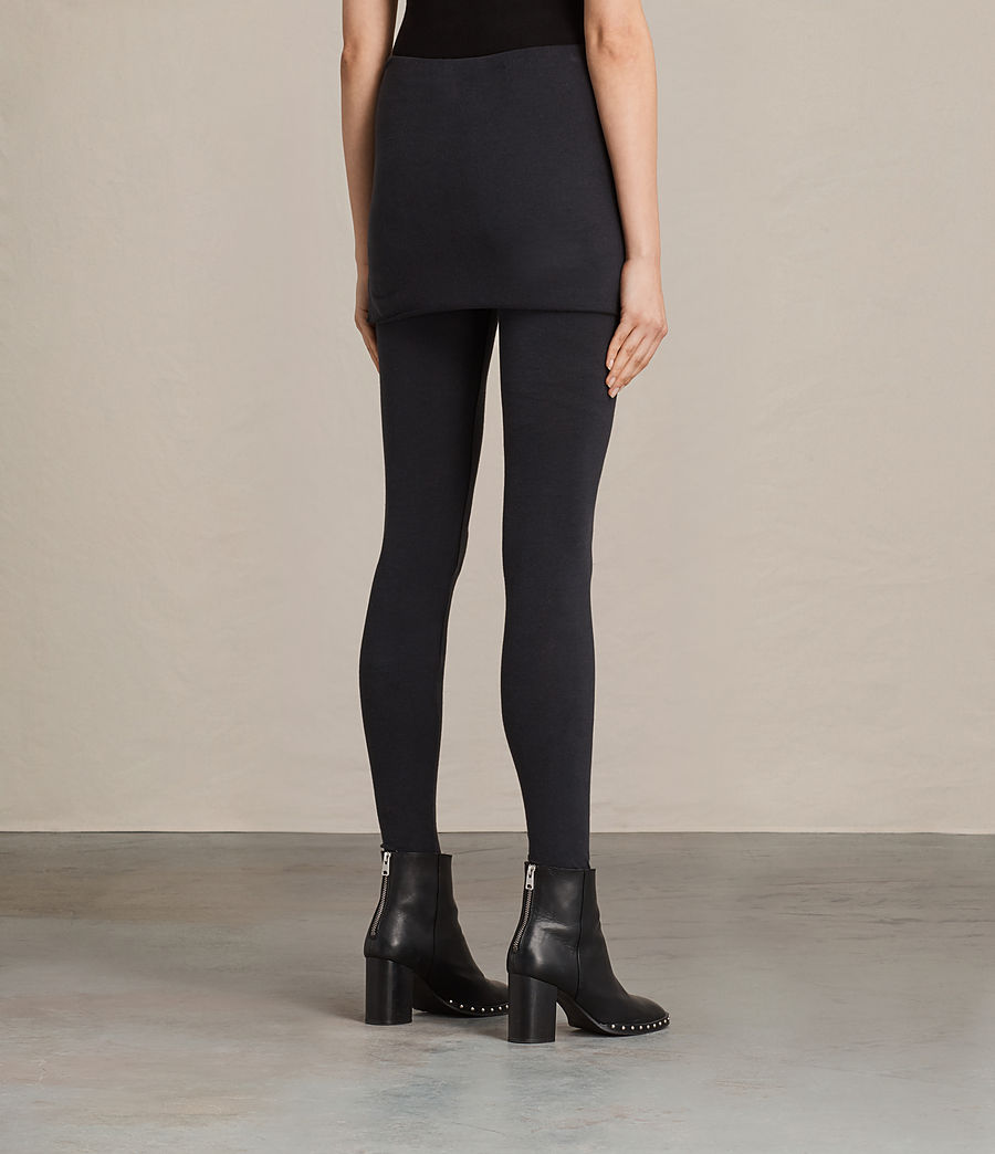 Donne Leggings Raffi Gathered (black) - Image 4