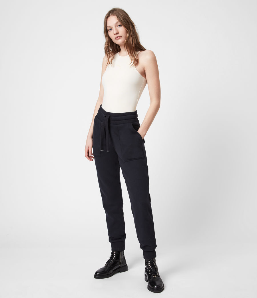 Women's Lucia Cuffed Relaxed Sweatpants (ink_blue) - Image 1