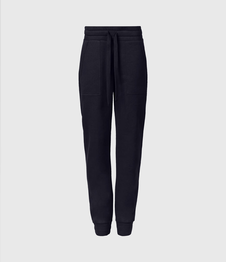 Women's Lucia Cuffed Relaxed Sweatpants (ink_blue) - Image 2