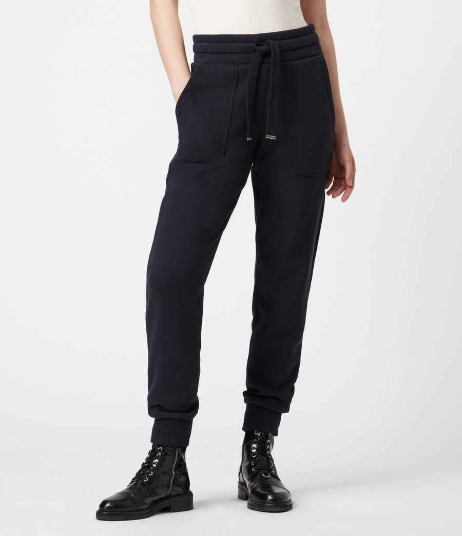 Women's Lucia Cuffed Relaxed Sweatpants (ink_blue) - Image 4