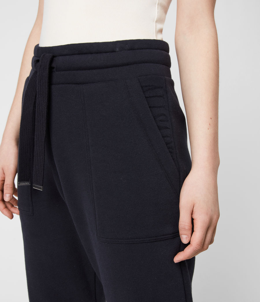 Women's Lucia Cuffed Relaxed Sweatpants (ink_blue) - Image 6