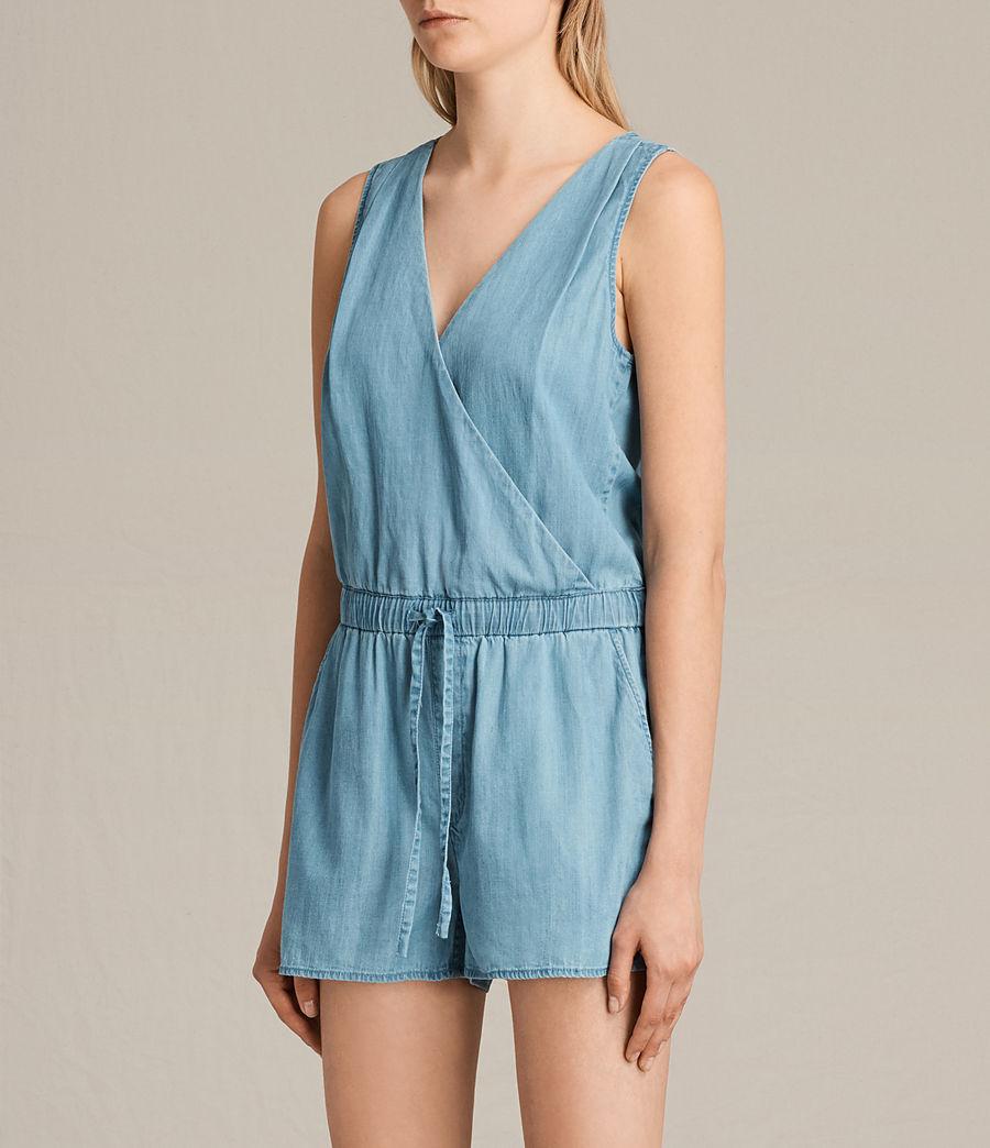 Femmes Combi-Short Penny (light_indigo_blue) - Image 5