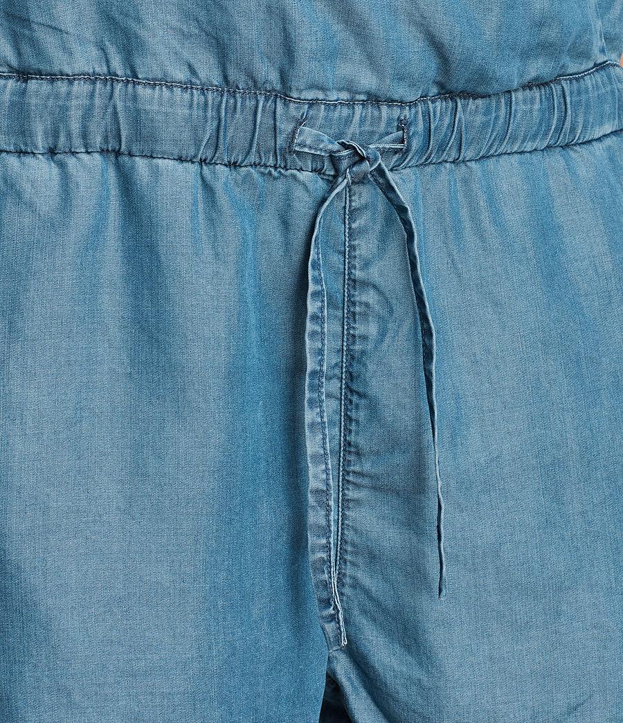 Women's Joanna Playsuit (mid_indigo_blue) - Image 7