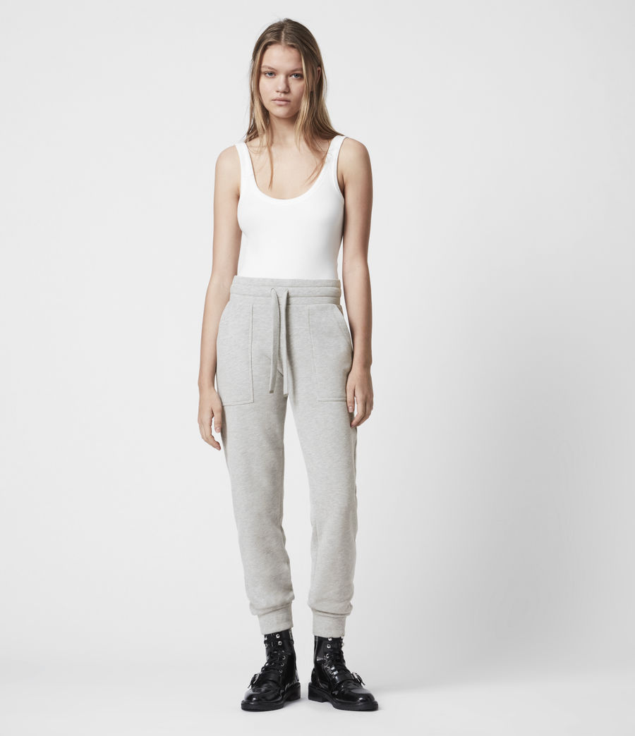 Women's Lucia Cuffed Relaxed Sweatpants (grey_marl) - Image 1