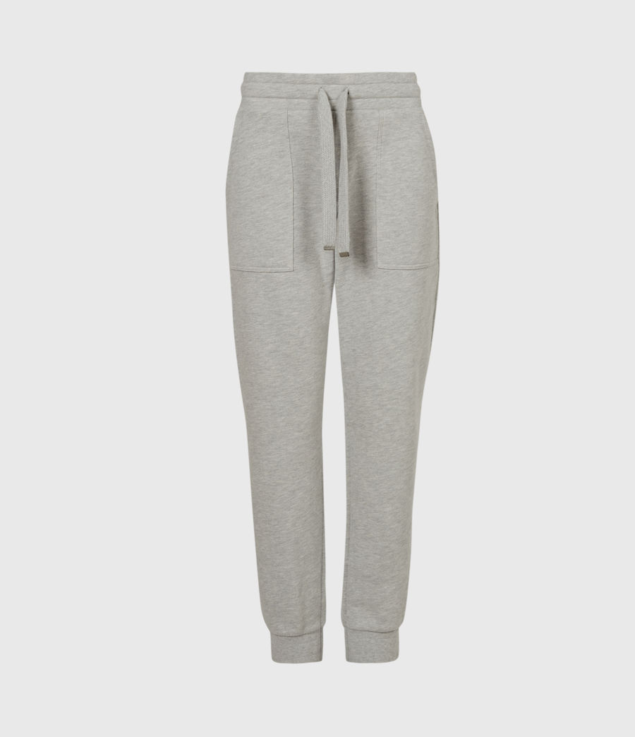 Women's Lucia Cuffed Relaxed Sweatpants (grey_marl) - Image 2